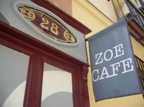 Foto Dulo. Zoé Café en el Barrio de Las Letras. Madrid.