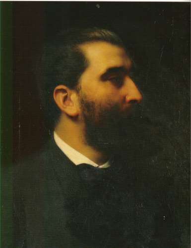 José-Maria de Heredia, por Émile Lévy