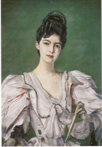Marie de Heredia, 17 años, por Rosalie Pillaut-Riesener