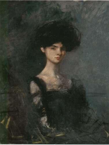 Marie de Régnier por Jean-Louis Forain