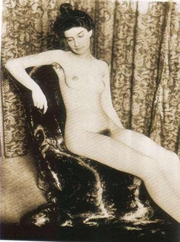 Desnudo de Marie de Régnier por Pierre Louÿs