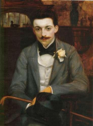 Pierre Louÿs por Jacques-Émile Blanche