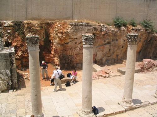 Excavaciones en la arteria central de Jerusalén
