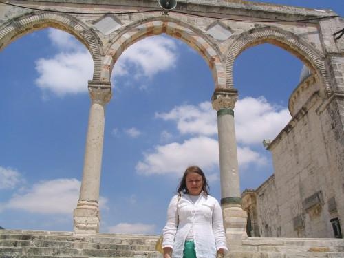 En la Esplanada de las Mezquitas, del otro lado del Muro de las Lamentaciones