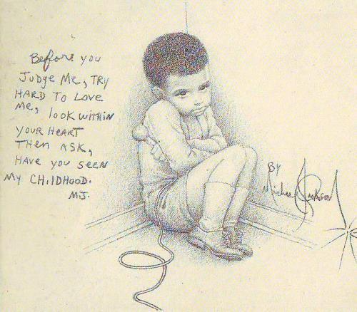 Dibujo de Michael Jackson