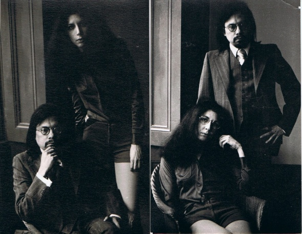 Miriam Gómez y Guillermo Cabrera Infante. Londres.