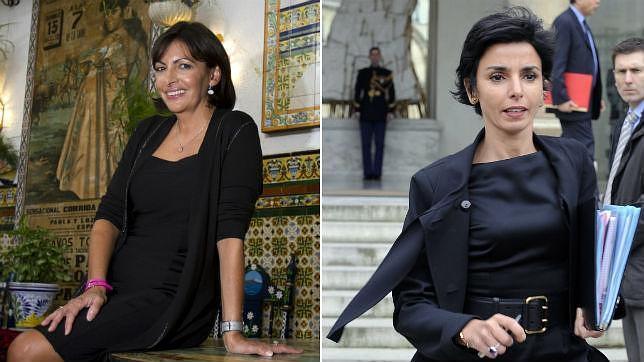 Ana Hidalgo (izq) y Rachida Dati (der). Fotos: R. Ríos y B. Guay