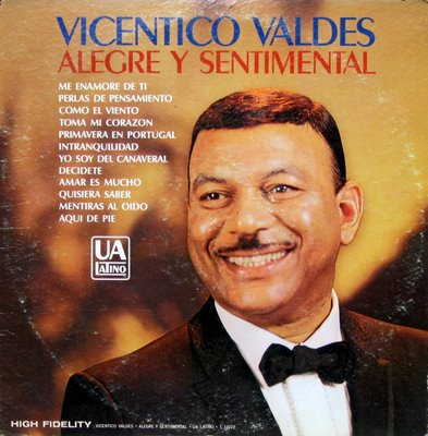 Vicentico Valdes, front