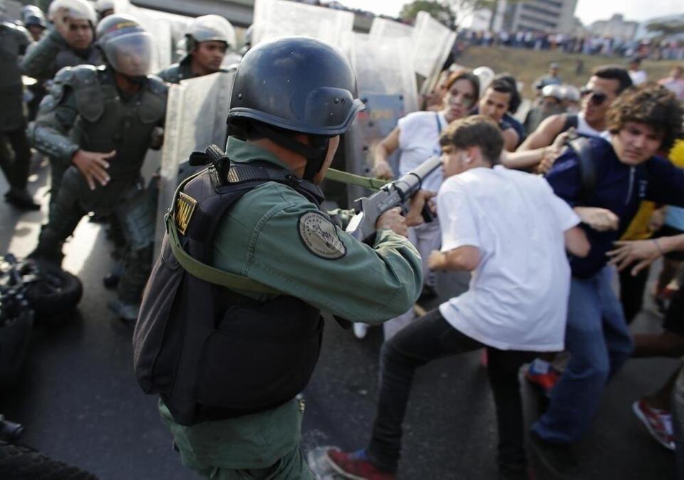 Resultado de imagen para represion a opositores cristianos en venezuela