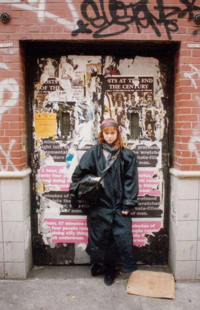 Yo en Soho, NY. Foto Gustavo Valdés