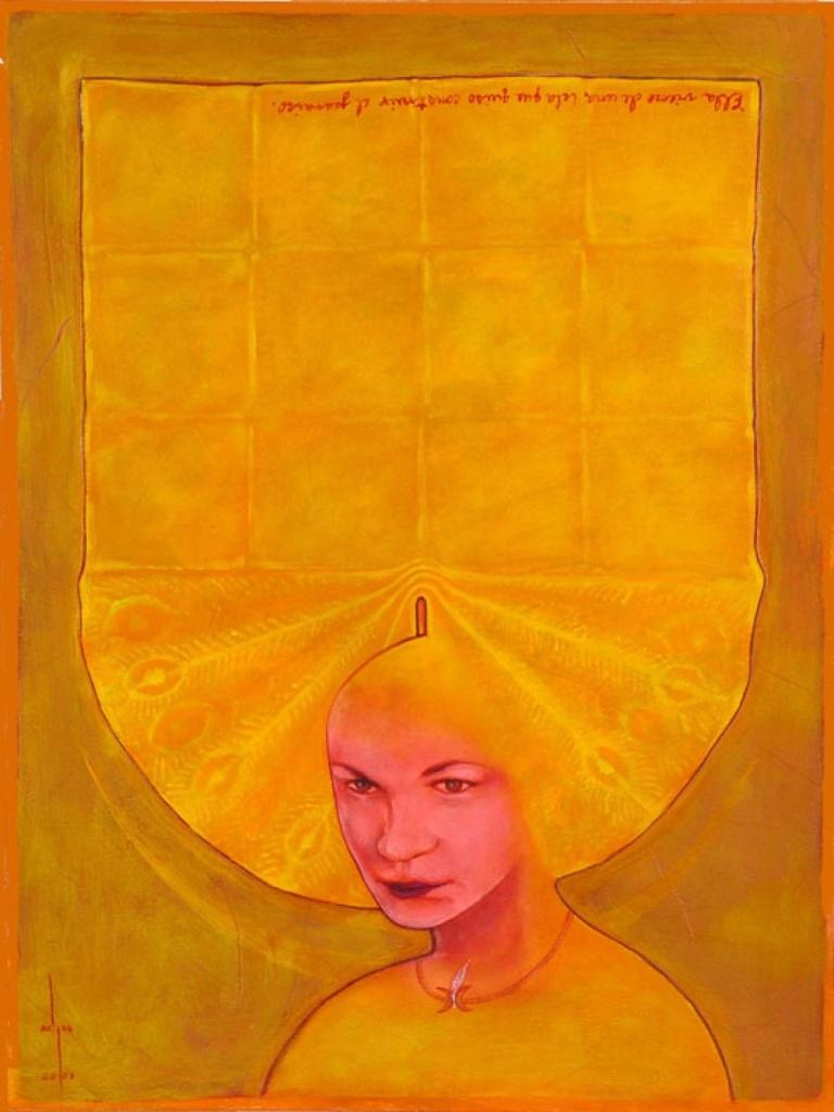 Retrato de Cepp Selgas, en Yalodde Oshun