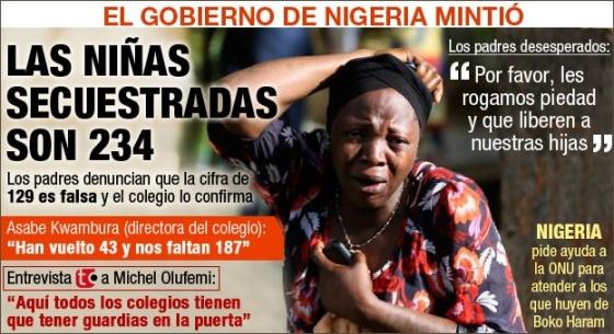 Niñas nigerianas