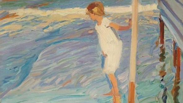 Miedo al agua (1909). Joaquín Sorolla