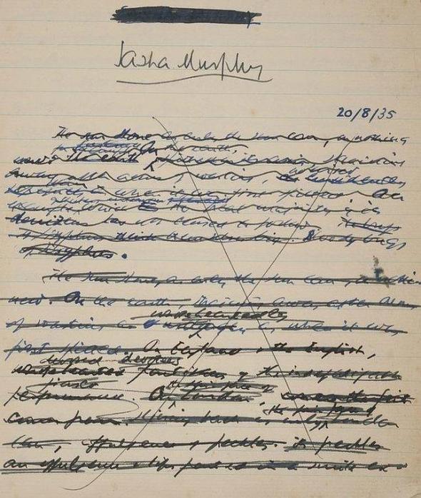 primera-pagina-manuscrito-beckett--644x762