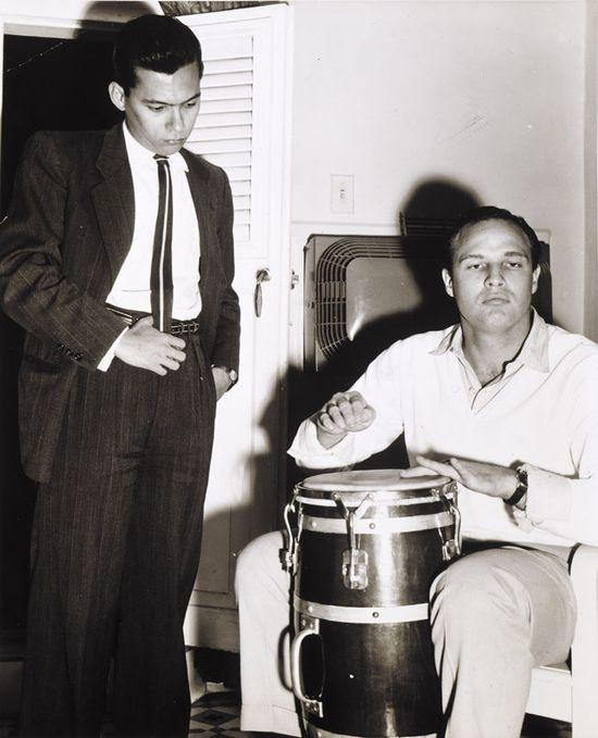 Foto Pepe Agraz. en el Hotel Packard, La Habana, 1956.