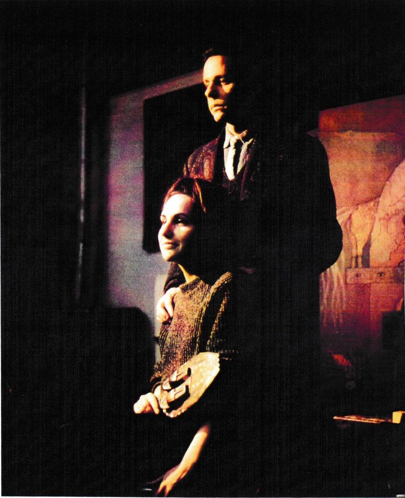 Jorge y Margarita Camacho, 8 rue de la Grande Chaumière (Atelier Gauguin). Paris, 1962. Foto José Ignacio Bermúdez