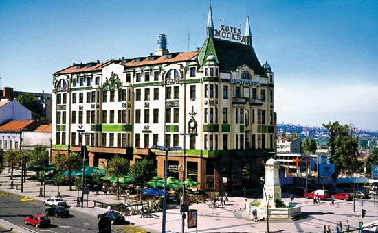 Editorial hotel mosc en belgrado por zo vald s for Hotel belgrado