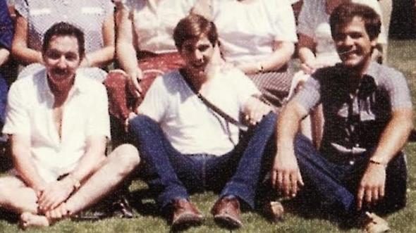 Raúl Castro con su hijo Alejandro Castro y su yerno  Luis Alberto Rodríguez López-Calleja, casado con Deborah Castro