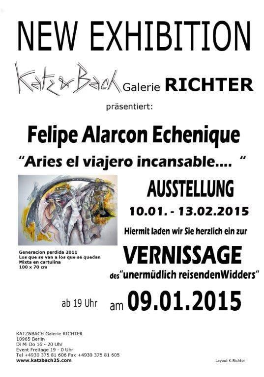 tarjeta de invitaciu00F3n expo Berlin