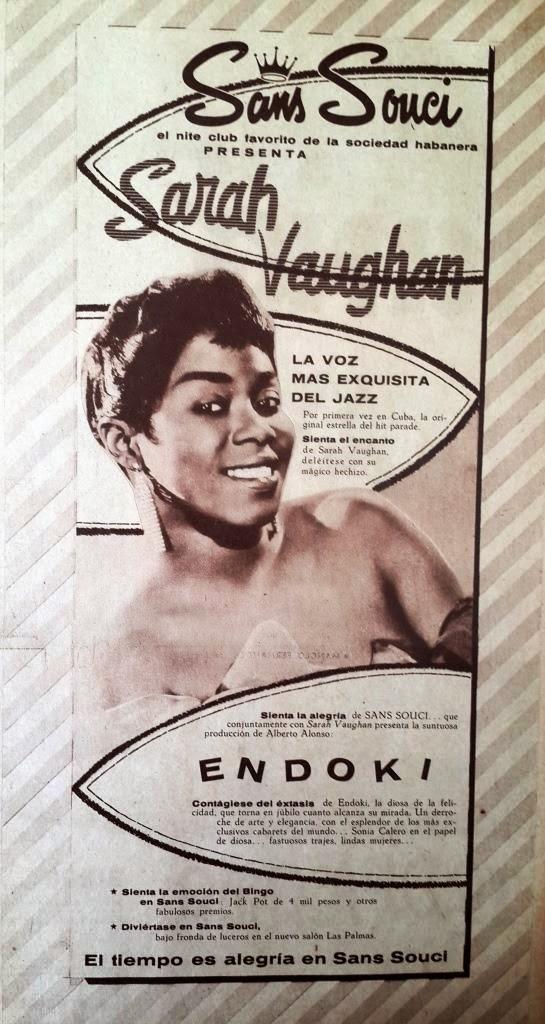 SaraVaughan_Cuba.Poster