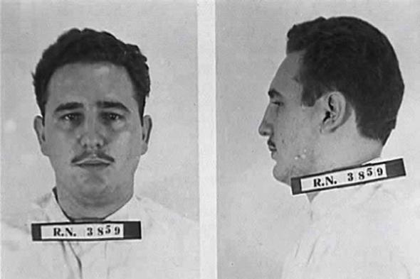 fidel-castro-bajo-arrestro-a-los-26-años