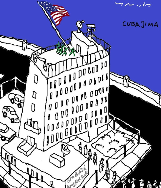embajada americana