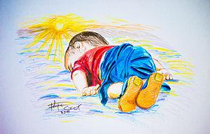 Dibujo de Felipe Crespo