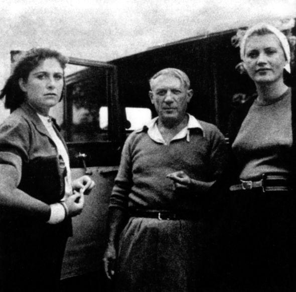 Dora Maar, Pablo Picasso et Lee Miller
