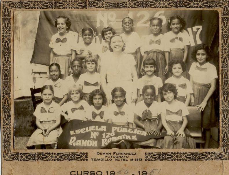 Tania Quintero. Curso escolar 1950-51