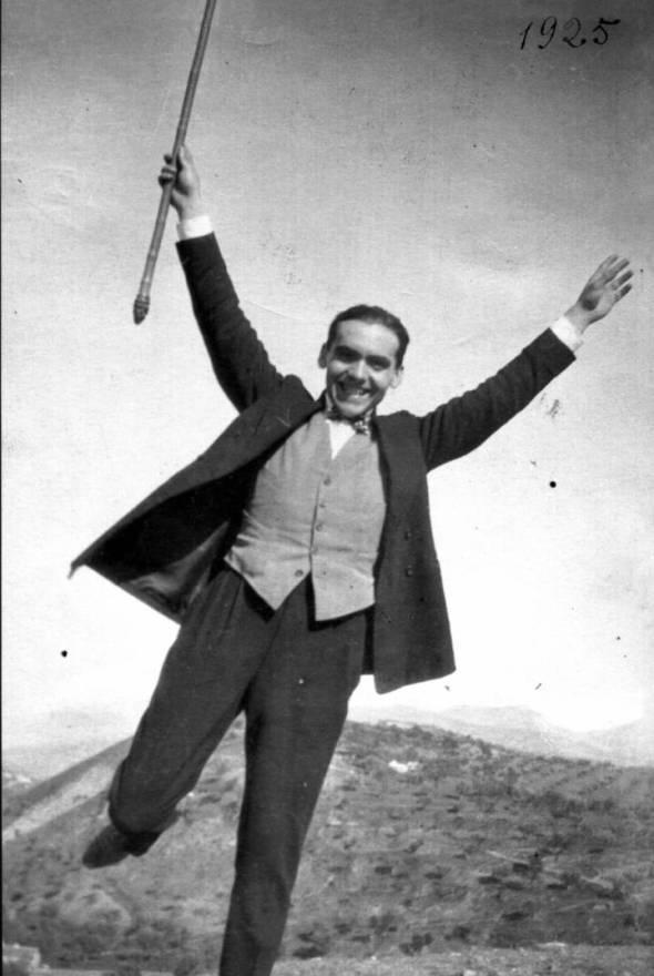 Federico García Lorca. Foto Buñuel
