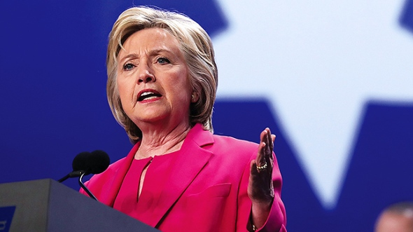 Hillary Clinton Addresses Nat'l Education Association Representative Assembly
