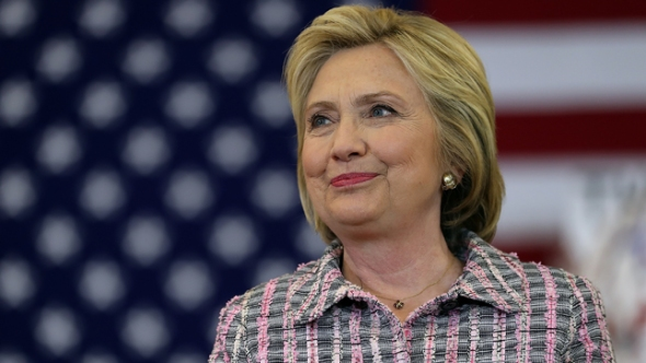 Hillary Clinton Campaigns In California's Bay Area Ahead Of State Primary