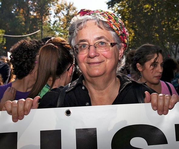 Manifestación. 25 Yo Voy 7N. Montserrat Galcerán. FOTO: Nacho Balancín de Blancos. Flickr Ahora Podemos.