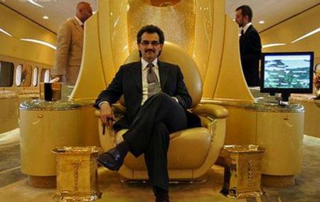 El príncipe saudí Al-Waleed Bin Talal