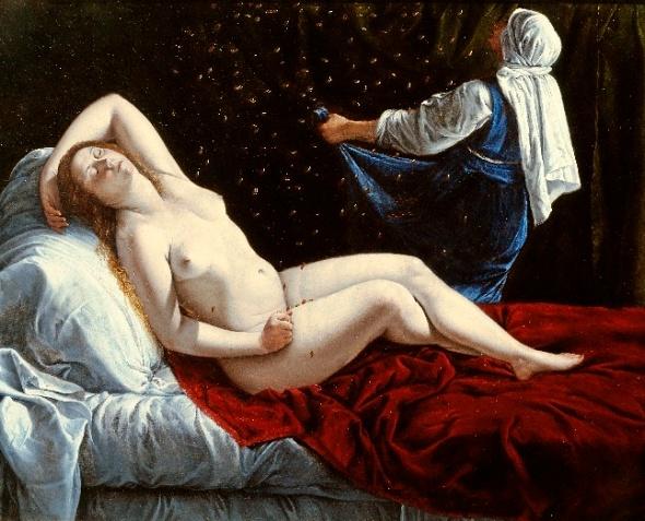 . La Caravaggio femenina. Artemisia Gentileschi