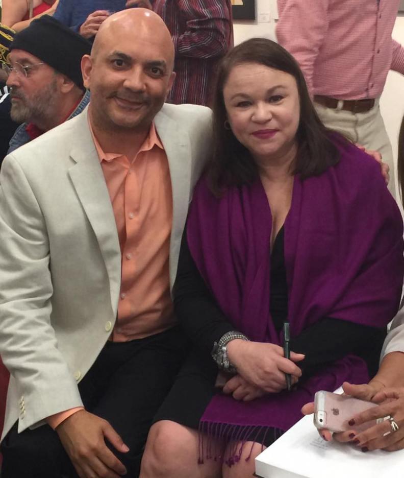 Con Ariel Bory
