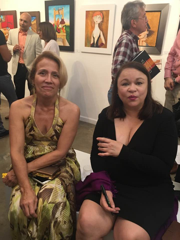 Con Mimi Cuesta
