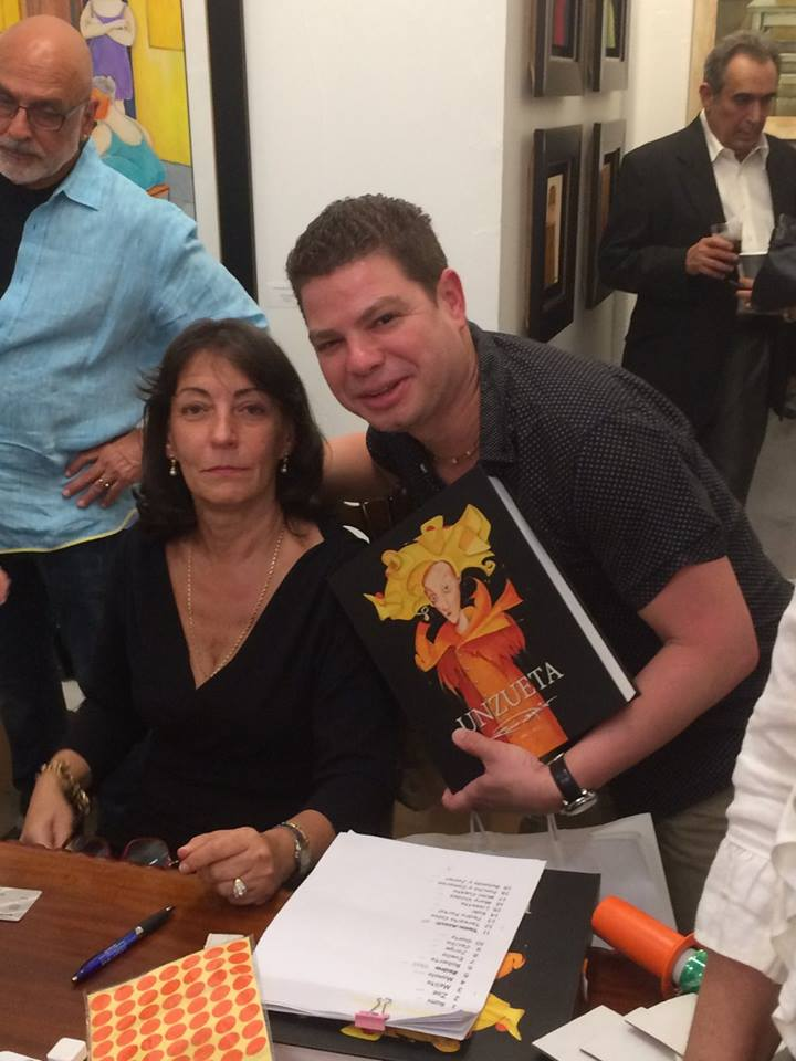 Enaida Unzueta y Miguel Flores