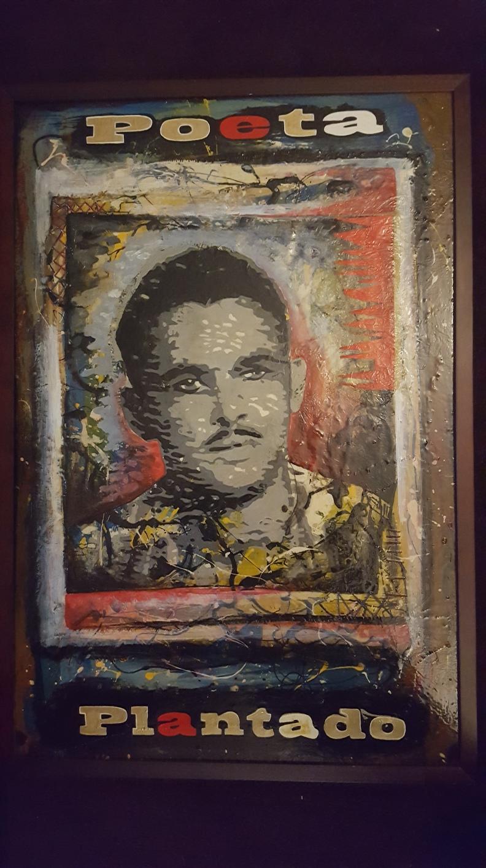 Retrato de Ernesto Díaz Rodríguez hecho por su hijo David, al salir de la cárcel tras más de veinte años en prisión. Ernesto Días Rodríguez fue condenado a 40 años.