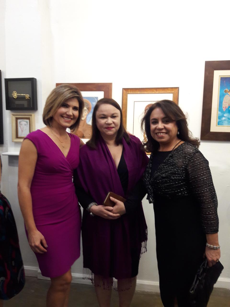 Con Daysi Balmajó y Cecilia Sarraf