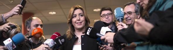DÍAZ SE MUESTRA CONVENCIDA DE QUE MAÑANA SALDRÁ FECHA CONGRESO DEL PSOE