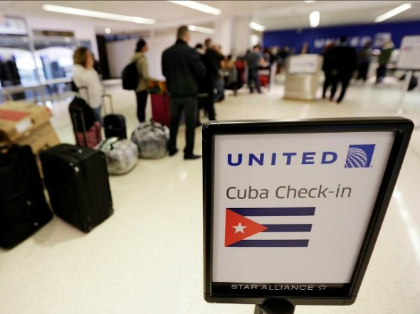 newark-united-to-cuba-check-in-ap