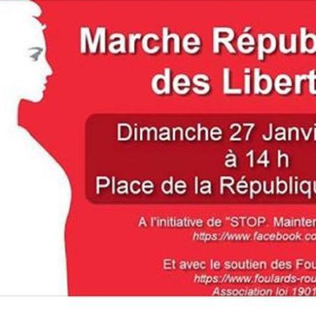 372695ff4b33 Les «foulards rouges» préparent leur mobilisation du 27 janvier à Paris