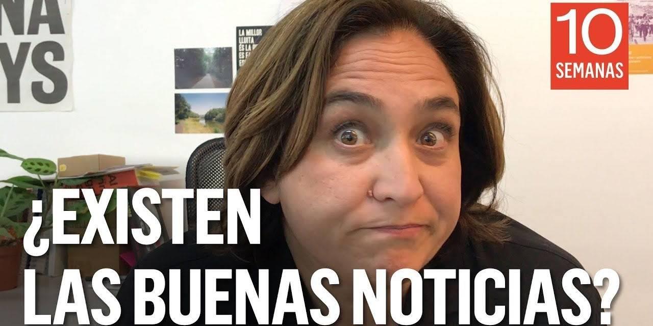 """Ada Colau En Porno ridículo """"brutal"""" de ada colau que se hace youtuber"""